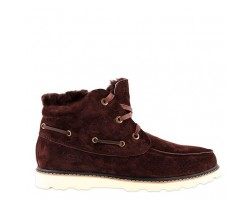 UGG DAVID BECKHAM LACE BOOT BROWN
