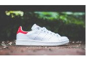 Кроссовки Adidas Stan Smith White/Red - Фото 2