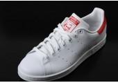 Кроссовки Adidas Stan Smith White/Red - Фото 4