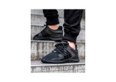 Кроссовки Adidas Equipment Support ADV All Black - Фото 3