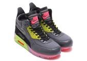 Кроссовки Nike Air Max 90 SneakerBoot Ice Dark Grey/Black/Force Green/Hyper - Фото 1