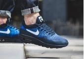 Кроссовки Nike Air Max 87 Ultra Flyknit Blue/Black - Фото 6