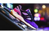 Кроссовки Saucony x Feature G9 Shadow 6 The Barney - Фото 1