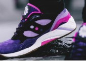 Кроссовки Saucony x Feature G9 Shadow 6 The Barney - Фото 3