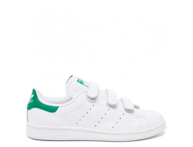 Кроссовки Adidas Stan Smith CF White/White/Green