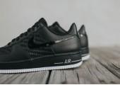 Кроссовки Nike Air Force 1 Low Black-Summit White-Gum - Фото 2