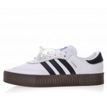 Кроссовки Adidas Originals Samba White/Black