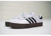 Кроссовки Adidas Originals Samba White/Black - Фото 9