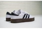Кроссовки Adidas Originals Samba White/Black - Фото 10