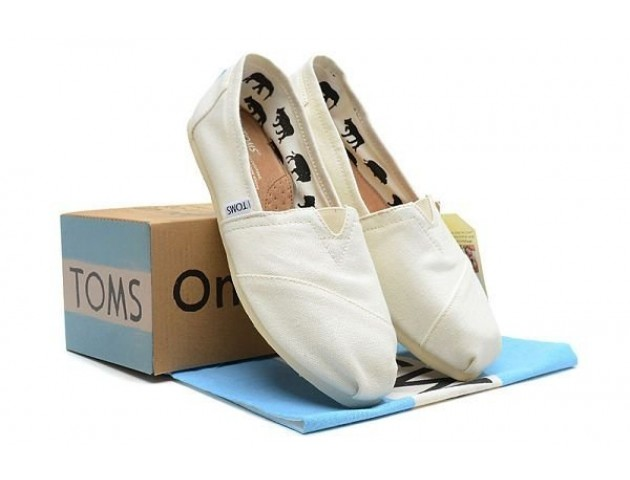Toms Classic White