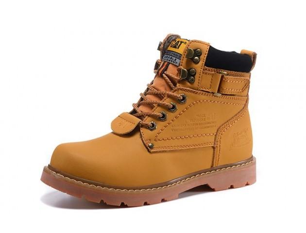 Ботинки Caterpillar Second Shift Boots Yellow