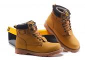 Ботинки Caterpillar Second Shift Boots Yellow - Фото 5