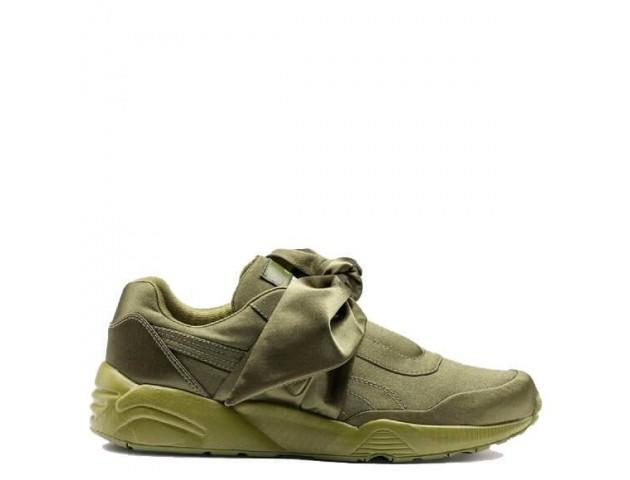 Кроссовки Puma х Rihanna Fenty Bow Sneaker Olive Branch