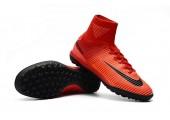 Сороконожки Nike Mercurial Superfly V TF Fire Red - Фото 5