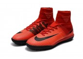 Сороконожки Nike Mercurial Superfly V TF Fire Red - Фото 8