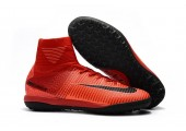 Сороконожки Nike Mercurial Superfly V TF Fire Red - Фото 9