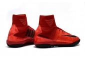 Сороконожки Nike Mercurial Superfly V TF Fire Red - Фото 7