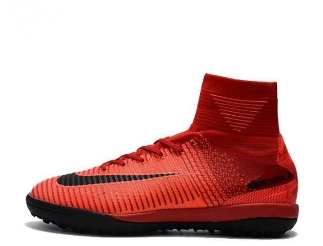 Сороконожки Nike Mercurial Superfly V TF Fire Red