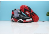 Кроссовки Fila Vita Black/Red/White - Фото 7