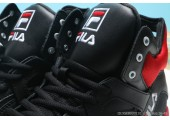 Кроссовки Fila Vita Black/Red/White - Фото 3