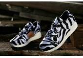 Кроссовки Adidas ZX 700 Remastered Zebra Black/White - Фото 2