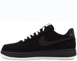 Кроссовки Nike Air Force One 1 Low Black Sail