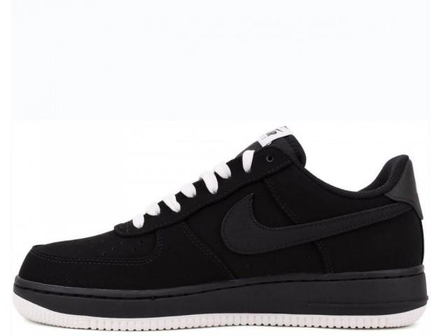 Кроссовки Nike Air Force One 1 Low Black Sail