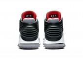Баскетбольные кроссовки Air Jordan XXX2 Black/Red/Cement Grey - Фото 4