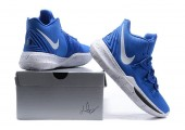 Баскетбольные кроссовки Nike Kyrie 5 Duke Blue - Фото 2