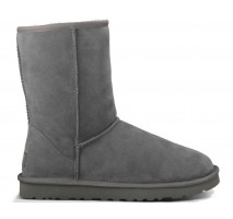 UGG CLASSIC SHORT BOOT GREY