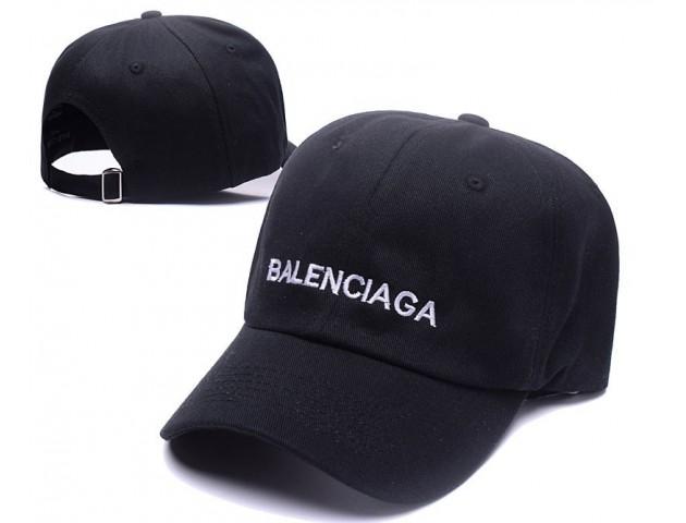 Кепка Balenciaga Hip hop Cap Black