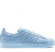 Кроссовки Adidas Superstar Supercolor Light Blue