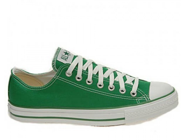 Кеды Converse All Star Chuck Taylor Low Green