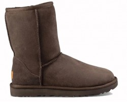 UGG CLASSIC SHORT II BOOT CHOCOLATE