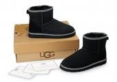 UGG Classic Mini Liberty Black - Фото 5