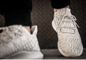 Кроссовки Adidas Tubular Shadow Knit Beige - Фото 3